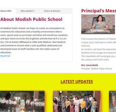 modish public school hathin
