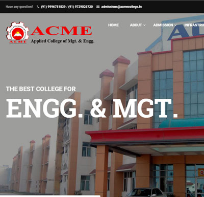 ACME College - Palwal (H.R.)