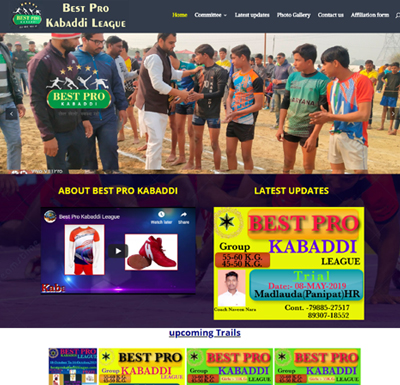 Best Pro Kabaddi League