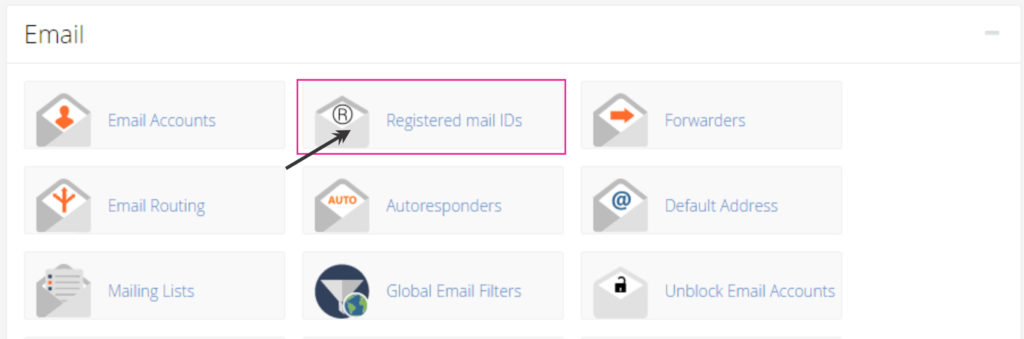 How to create email account