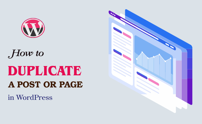 WordPress Duplicate Page